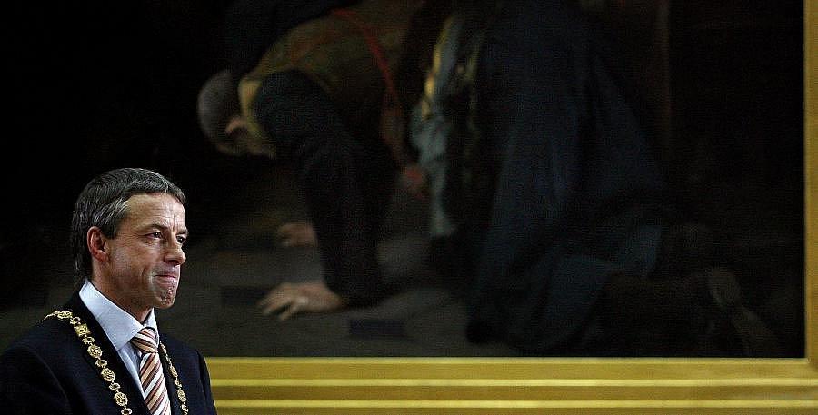 Rozloučení s pražským primátorem Pavlem Bémem při příležitosti ukončení jeho funkce za účasti mj. prezidenta Václava Klause proběhlo 4. listopadu na Staroměstské radnici v Praze.