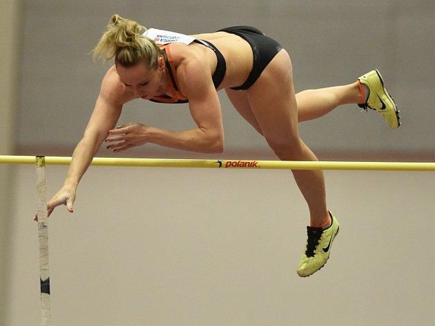 Romana Maláčová během domácího šampionátu