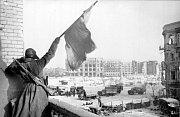 Dobytí centrálního náměstí ve Stalingradu Sověty