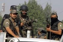 Vojáci pákistánské armády. Ilustrační foto