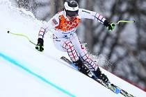 Ondřej Bank se postaral v superobřím slalomu v Soči o nejlepší český výsledek v této disciplíně na olympijských hrách, dojel devátý.