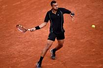 Jo-Wilfried Tsonga na French Open.