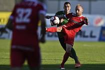Baráž o účast v první fotbalové lize - odvetné utkání: 1. FK Příbram - FC Zbrojovka Brno