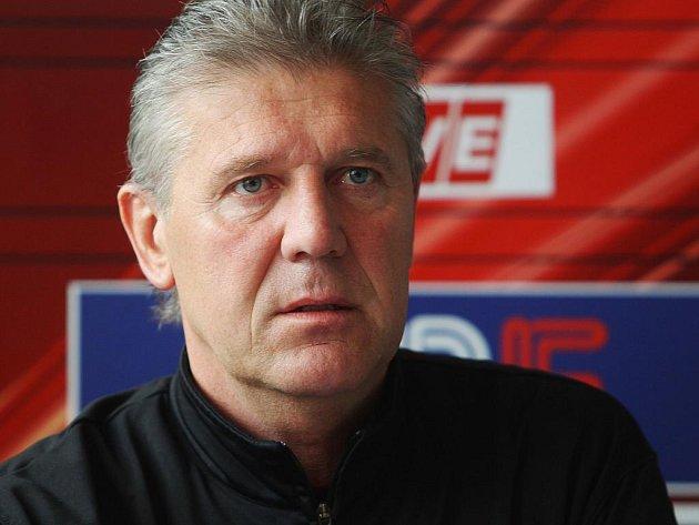 Fotbalový trenér Jozef Chovanec.