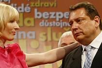 Jiří Paroubek a jeho žena Petra.