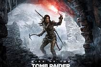 Konzolová hra Rise of the Tomb Raider.