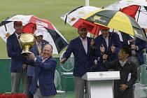 Golfisté USA slaví výhru v Prezidentském poháru