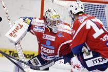 Hokejistům Pardubic se nelíbil výkon sudích v zápase s Libercem.