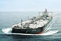 Ropný tanker. Ilustrační foto.