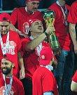 Fotbalové utkání finále MOL Cupu mezi celky SK Slavia Praha a FK Jablonec 9. května v Mladé Boleslavi. Jindřich Trpišovský.