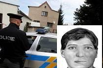 Policie zveřejnila portrét a popis muže, který mohl spáchat trojnásobnou vraždu v Mukařově u Prahy.