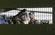 Rakouští policisté a vojáci trénují uzavření hranic před migranty