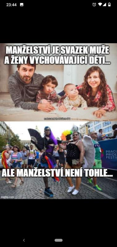 """Fotografie """"posloužila"""" i k výrobě meme zaměřeného proti gayům"""
