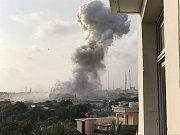 Somálským hlavním městem Mogadišem otřásly výbuchy