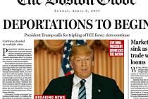 The Boston Globe ukázal, jak může vypadat jeho vydání za rok.