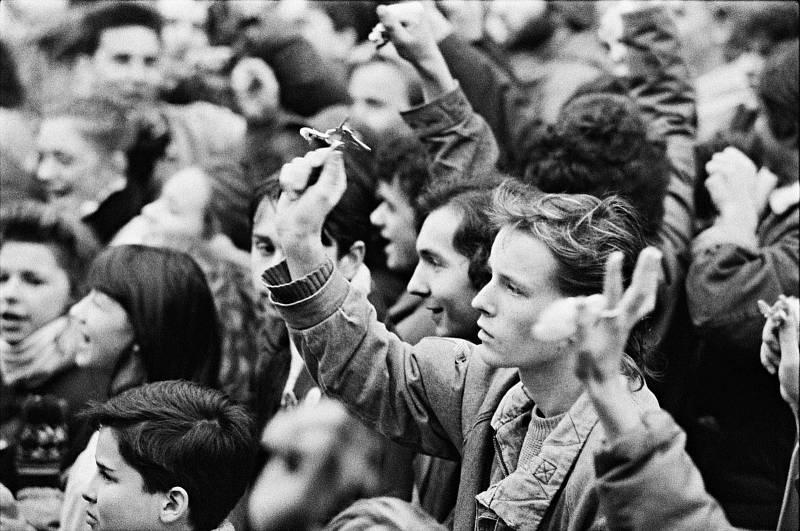 Sametová revoluce - Jak to vypuklo. Už je to tady