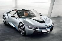 Koncept BMW i8 Spyder.
