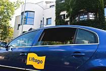 Vůz společnosti Liftago - ilustrační foto