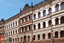 Sídlo prezídia České akademie věd v Praze.