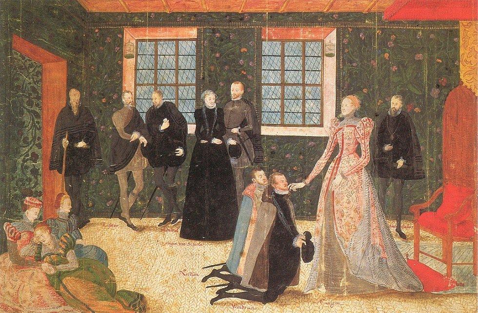 Alžběta I. kolem roku 1560