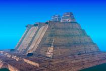 Aztécký chrám Templo Mayor