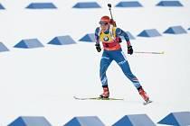 Poslední den na MS v biatlonu: Gabriela Soukalová při závodu s hromadným startem