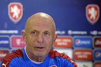 Trenér fotbalové reprezentace Karel Jarolím.