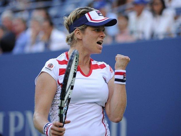 Kim Clijstersová na US Open.