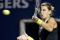 Lucie Šafářová na turnaji v Torontu.