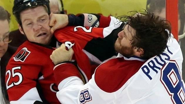 Bitky ostrých hochů k NHL neodmyslitelně patří.