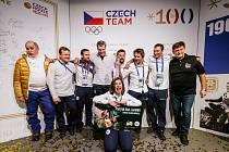 Oslavy v Českém olympijském domě