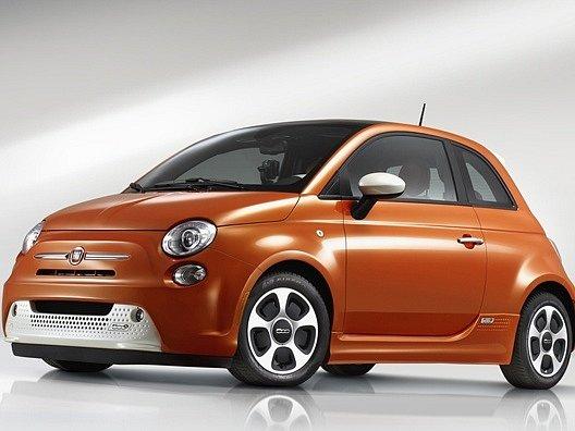 Nový Fiat 500e