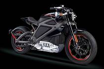 Elektrický motocykl Harley-Davidson LiveWire.