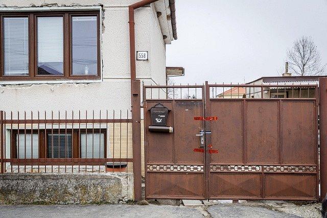 Dům v obci Veľká Mača, kde byl zavražděn slovenský novinář Ján Kuciak s partnerkou