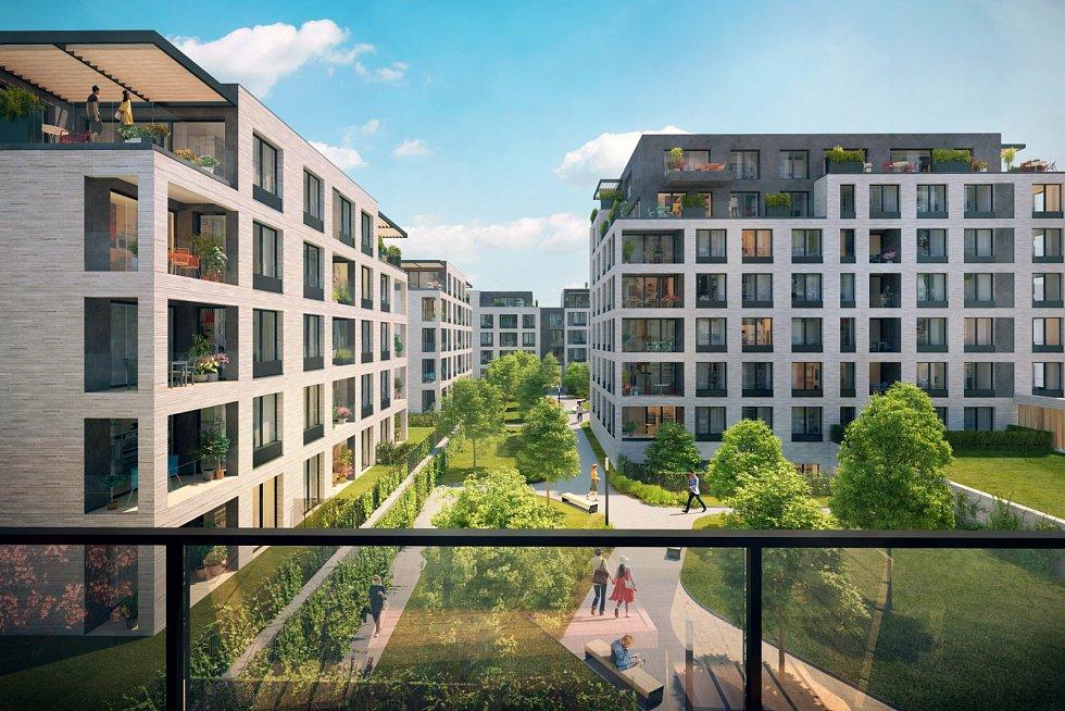 Energeticky pasivní bytový komplex Rezidence Silver Port společnosti JRD vyroste nedaleko živé Vinohradské třídy, v docházkové vzdálenosti od stanice metra A Želivského.