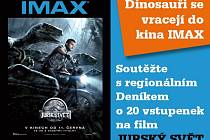 Dinosauři se vracejí do kina IMAX.