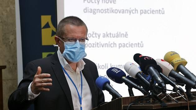 Ředitel Ústavu zdravotnických informací a statistiky Ladislav Dušek