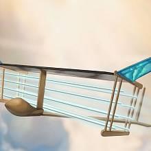 Návrh letounu, který používá k pohonu iontový vítr.