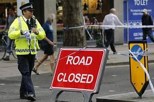 Britský policista -ilustrační foto