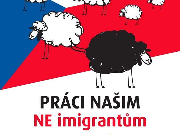 Úsvit má v kampani motiv švýcarských nacionalistů proti migrantům.