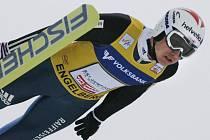 Švýcarský suverén Simon Ammann triumfoval i v Engelbergu.