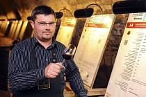 Sommeliér Marek Babisz