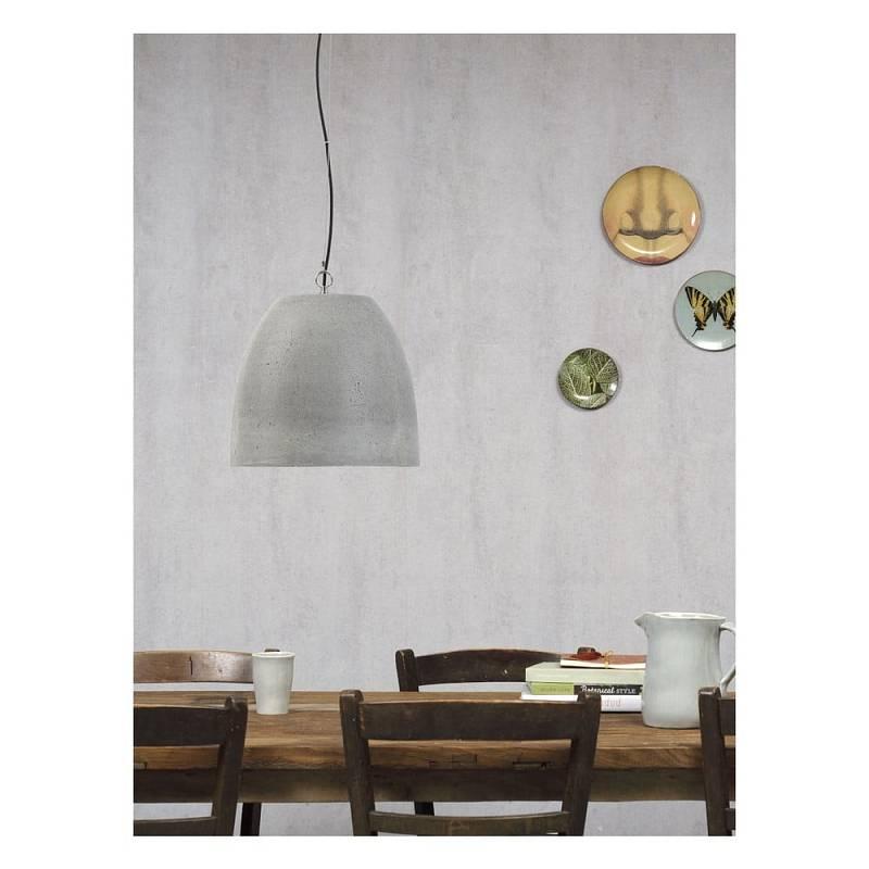 V interiéru můžete použít i závěsné betonové svítidlo, jako je Citylights Malaga.