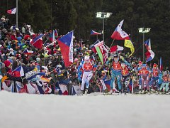 Světový pohár v biatlonu v Nové Městě opět překonal očekávání, fanoušci vytvořili fantastickou kulisu, kterou si pochvalovali i závodníci.