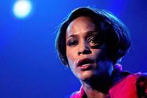 Zpěvačka Whitney Houston.