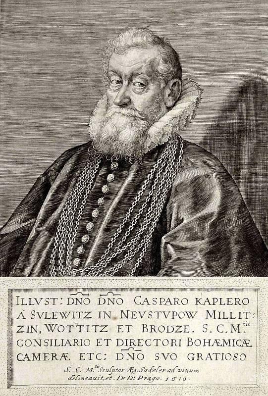Nejstarším odsouzeným se stal šestaosmdesátiletý český rytíř Kašpar Kaplíř ze Sulevic