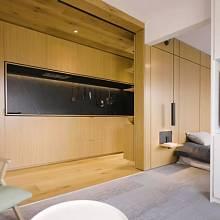 Interiér je charakteristický čistotou designu