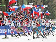 Světový pohár v biatlonu v Novém Městě na Moravě opět překonal očekávání, fanoušci vytvořili fantastickou kulisu.
