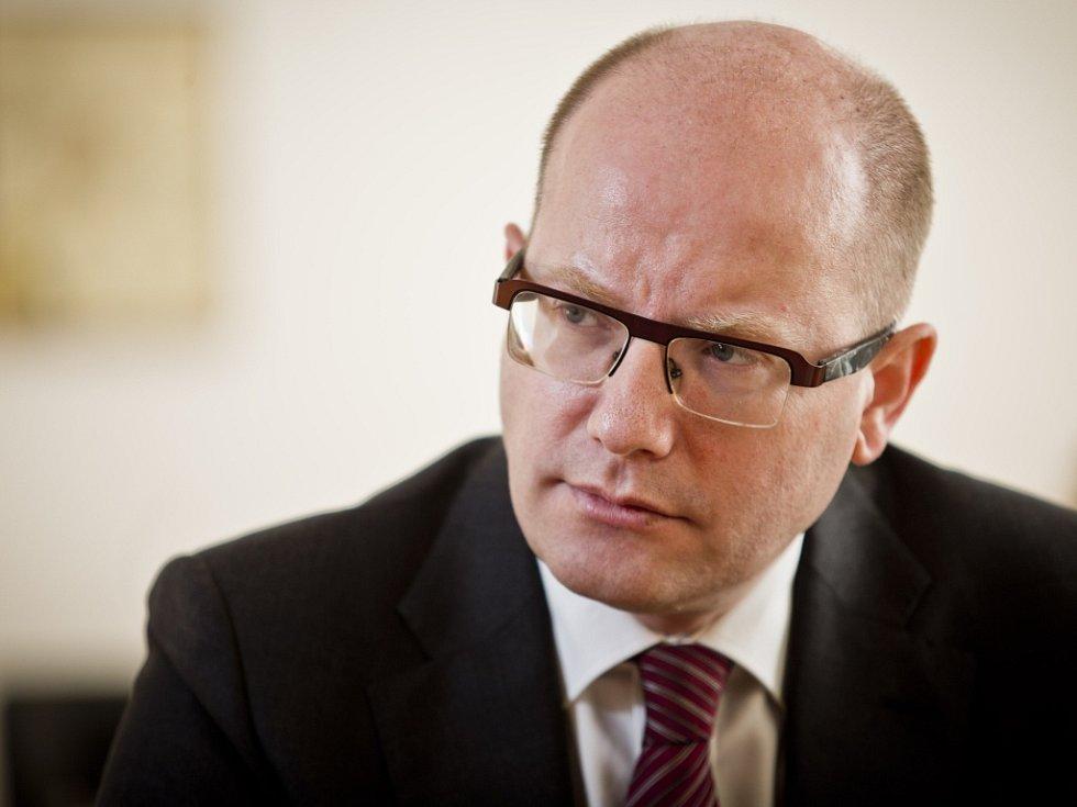 Bohuslav Sobotka v roce 2015