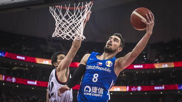 Utkání skupiny E mistrovství světa basketbalistů Česká republika - Japonsko